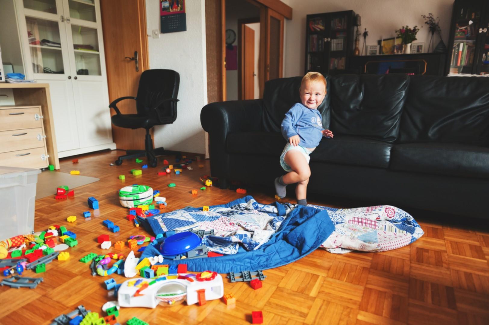Ik verweet mijn vrouw dat ons huis rommelig was, maar ik was fout ...