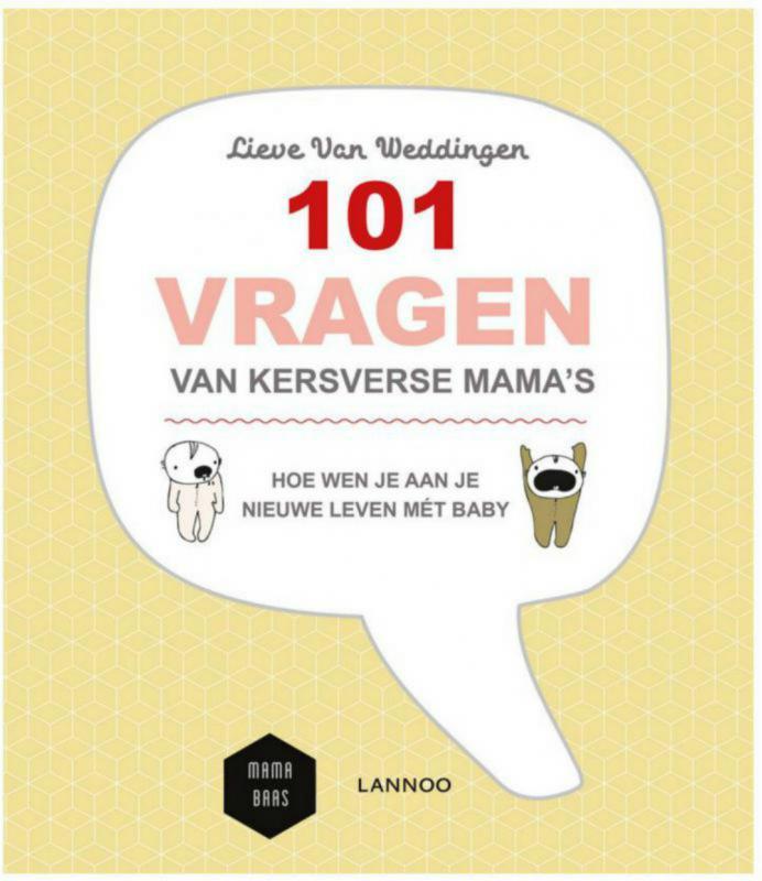 cover 101 vragen van kersverse mama's