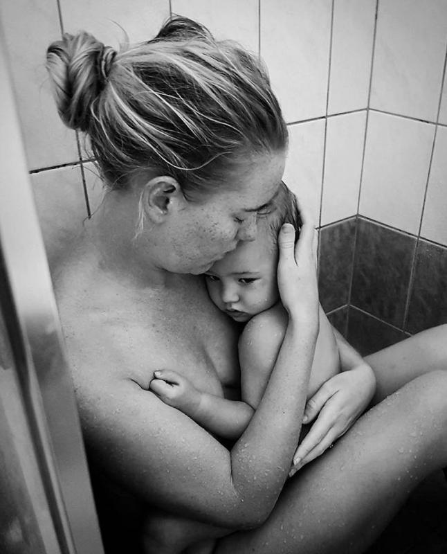 Kelli Bannister motherhood