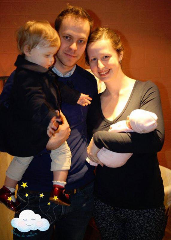 gezin met zoontje en sterrenkindje