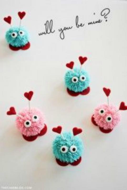 Valentijn knutselen