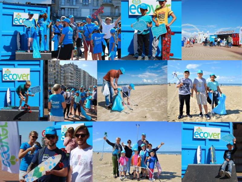 ecover beach cleanup