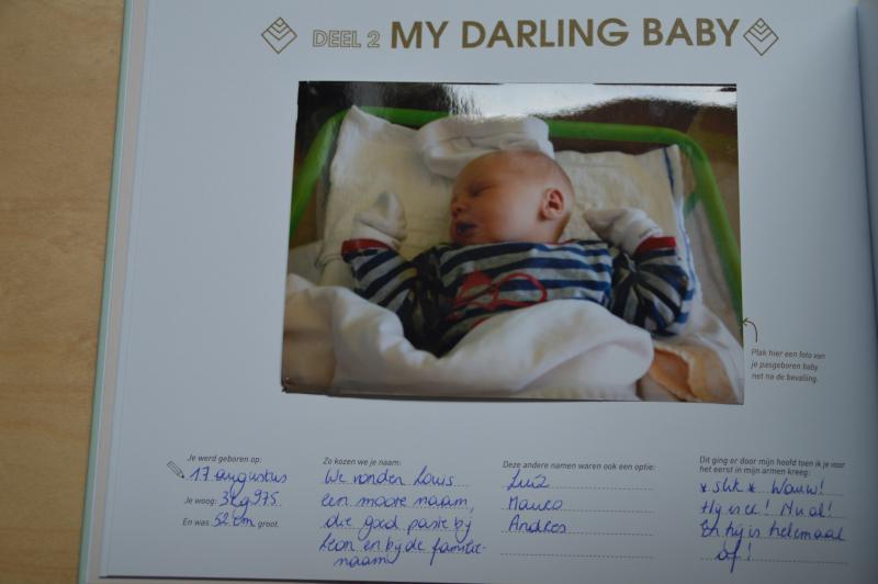 mijn babyfotoplakinvulboek