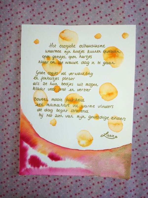 Gedichtje Lizzie
