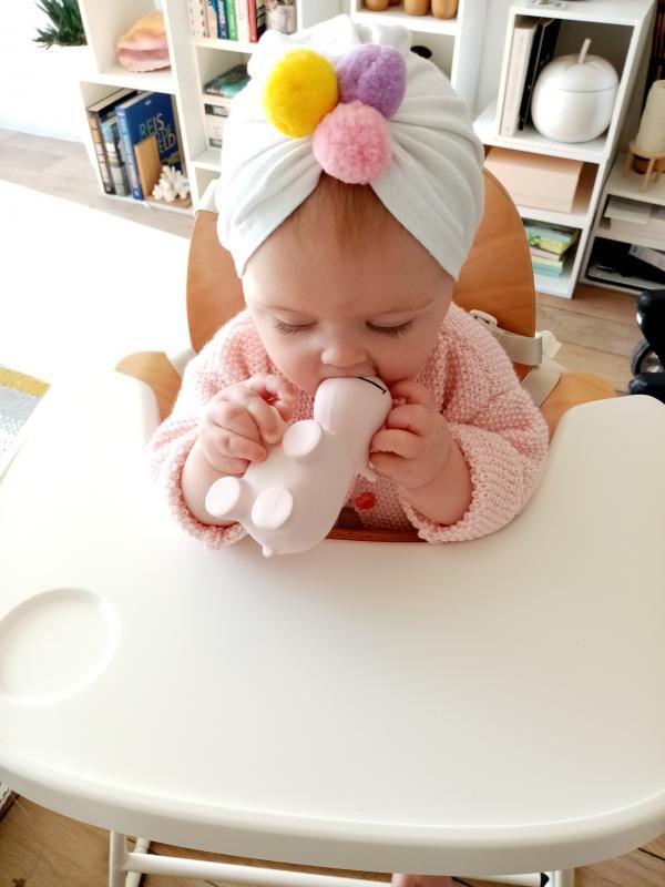 baby met muts