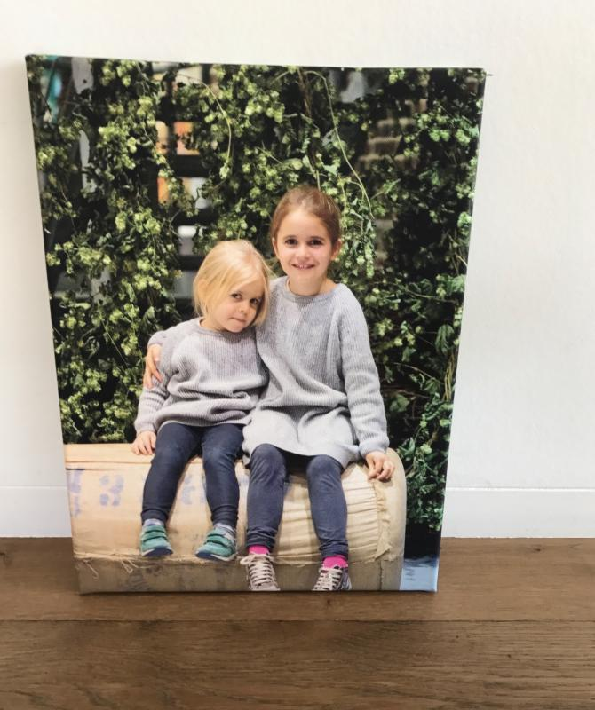 canvas albelli twee meisjes