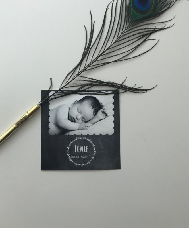 albelli geboortekaart