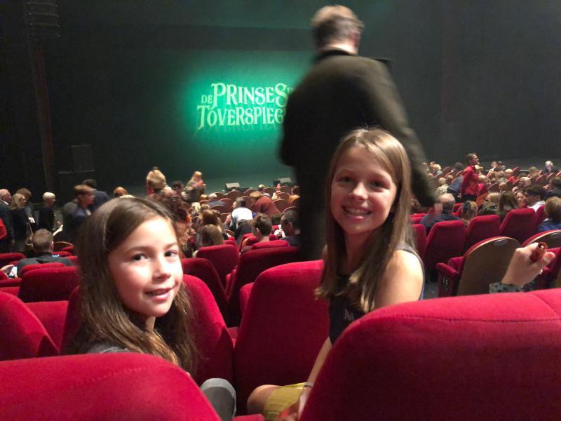 theaterzaal prinses en de toverspiegel