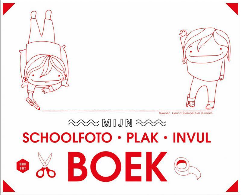 Mijn schoolfoto-plak-invulboek