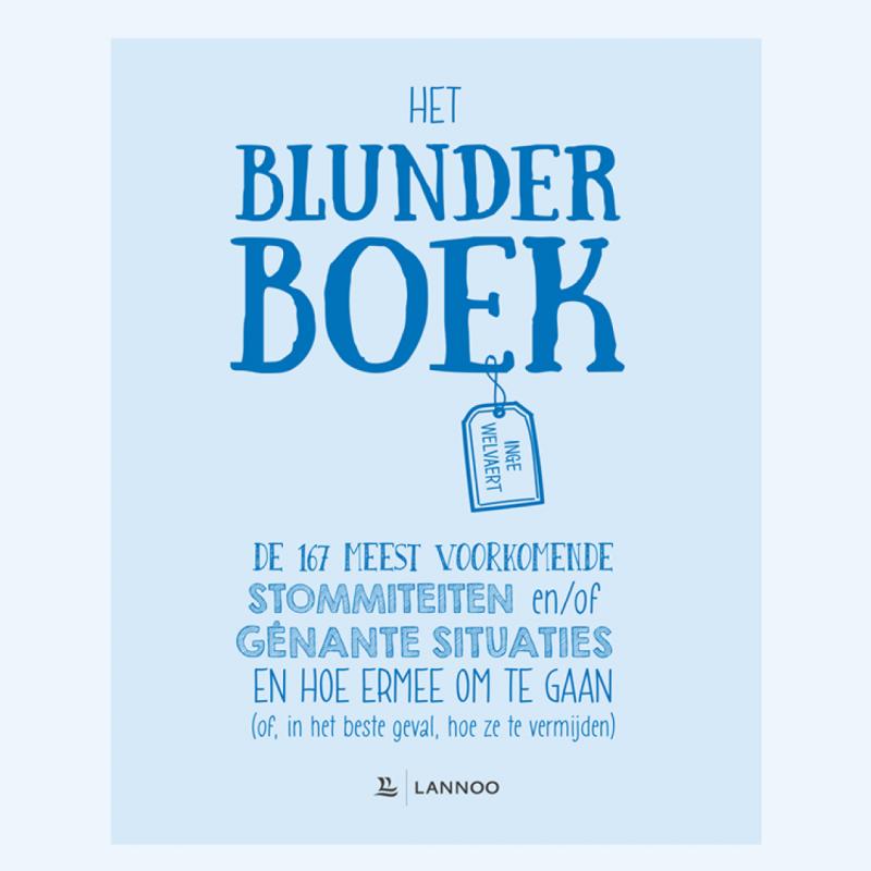 cover Blunder boek