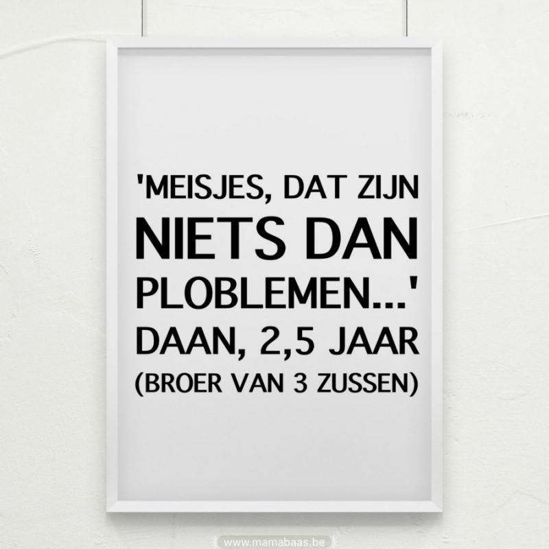 Quote: niets dan problemen