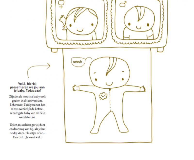 pagina boek