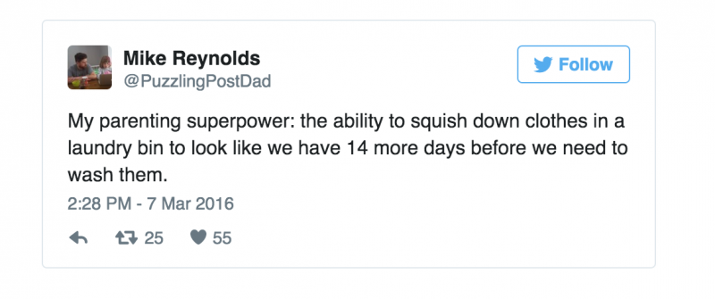 tweet superkracht superouder