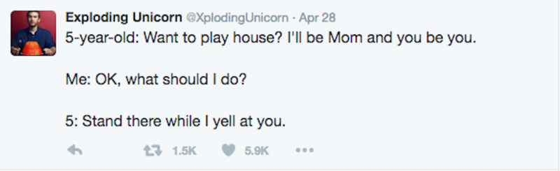 tweet @xplodingunicorn