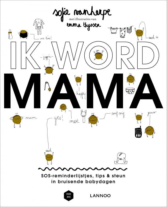 cover van het boek ik word mama
