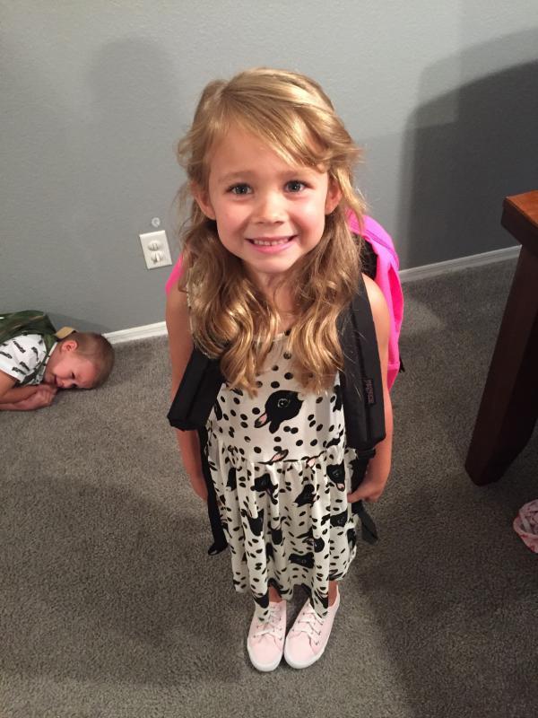 eerste schooldag traci willis