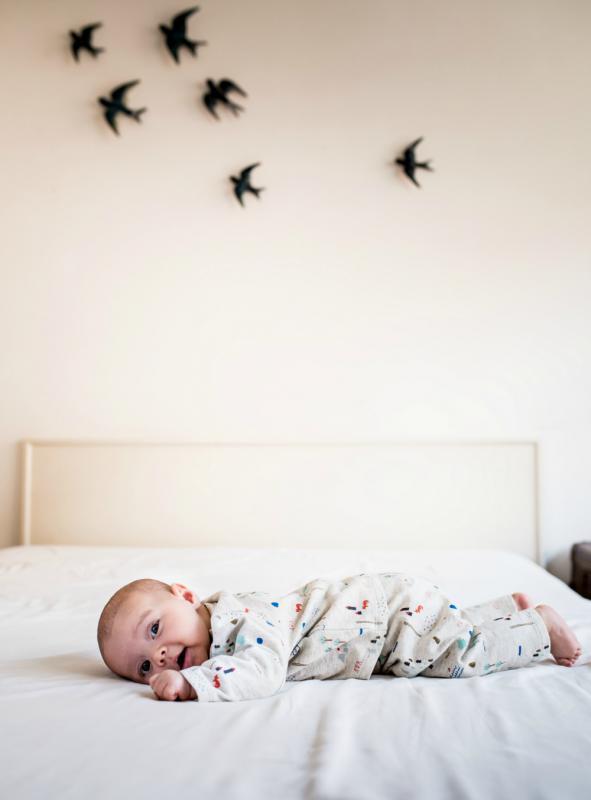baby op bed, feliz by filou