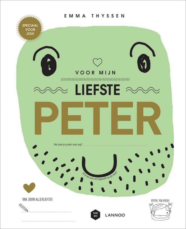 Invulboekje voor mijn liefste peter
