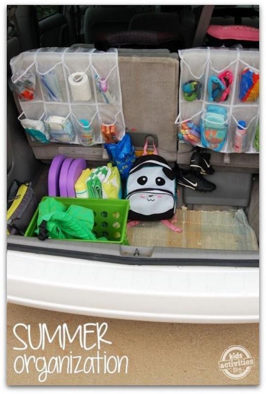 parenting hack trunk