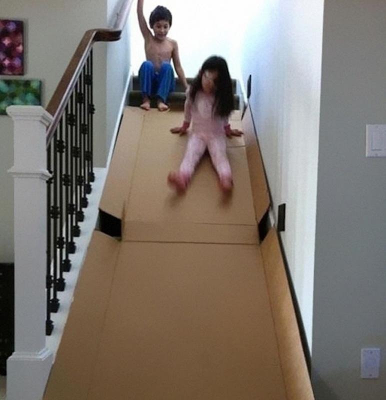 parenting hack slide