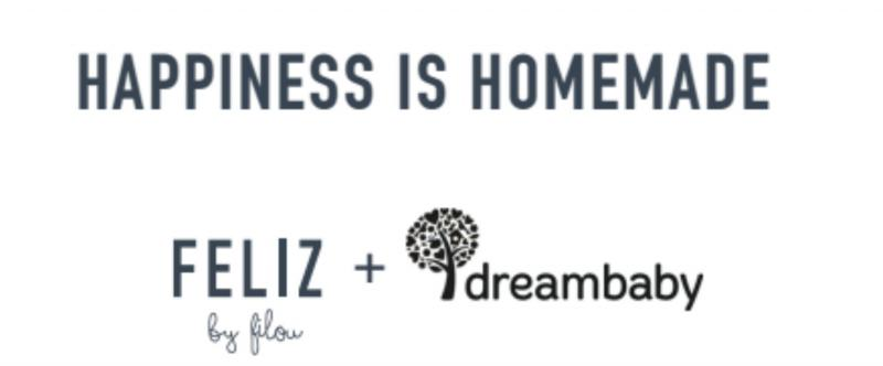 logo FELIZ by Filou en Dreambaby