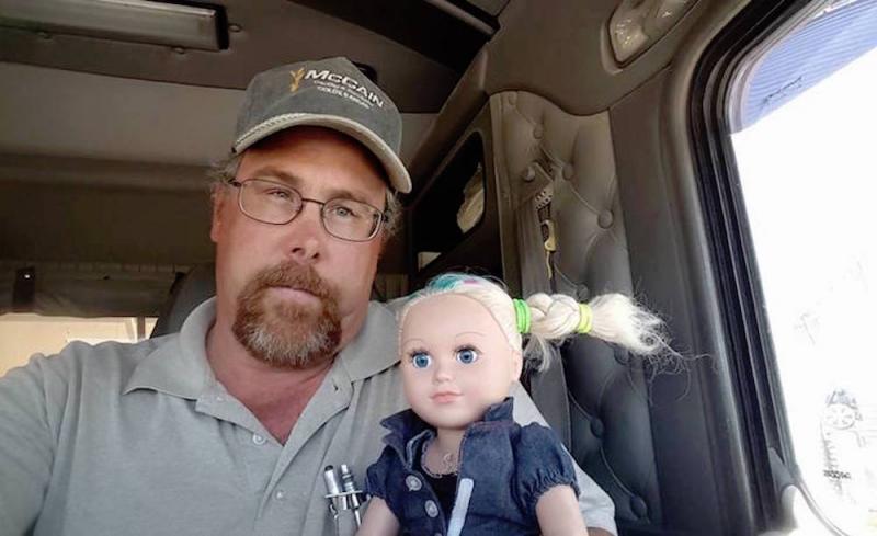 mccain babysit doll
