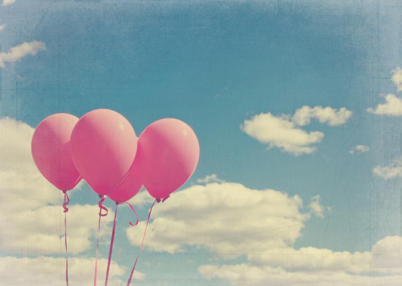 roze balonnen