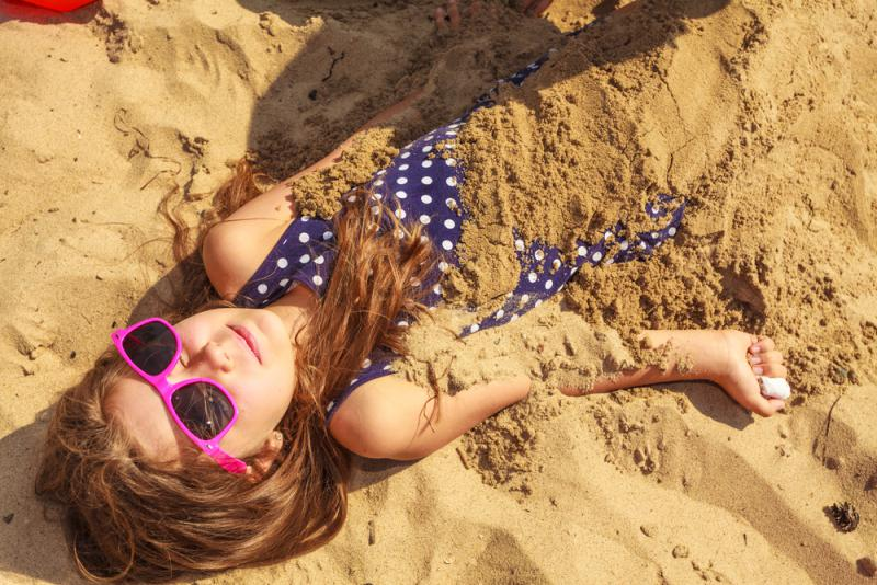 kind in zand